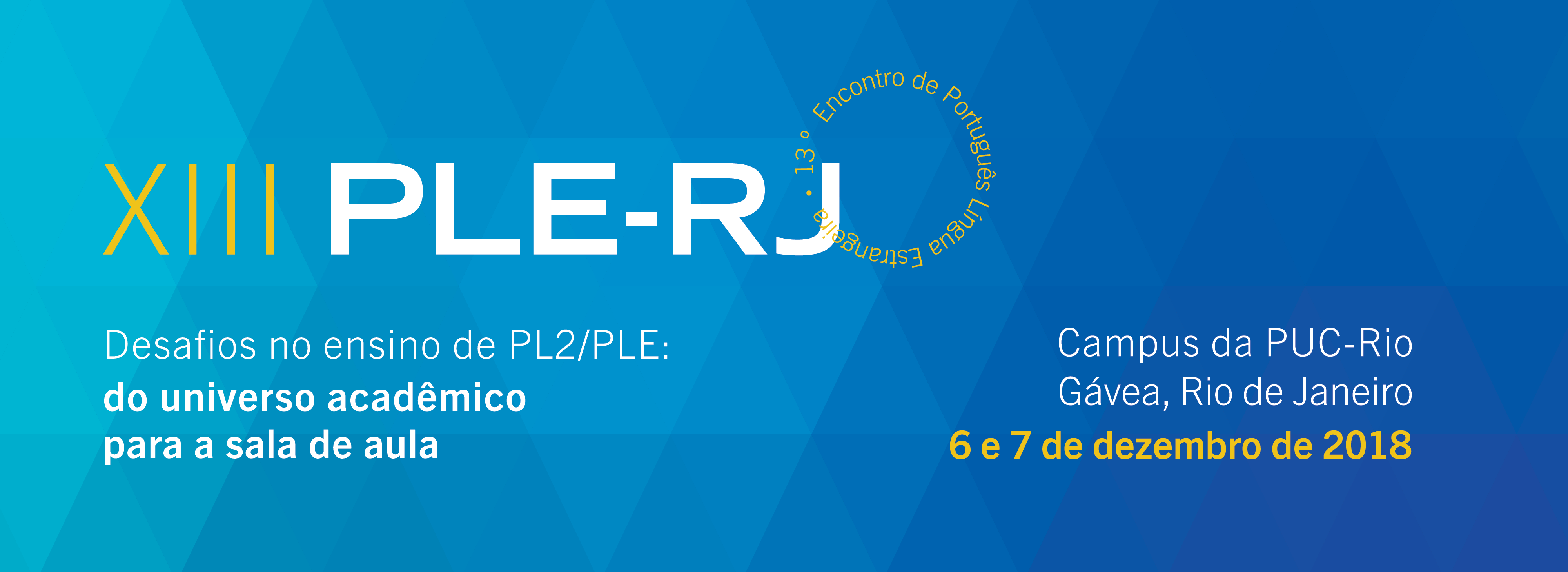 XIII PLE-RJ